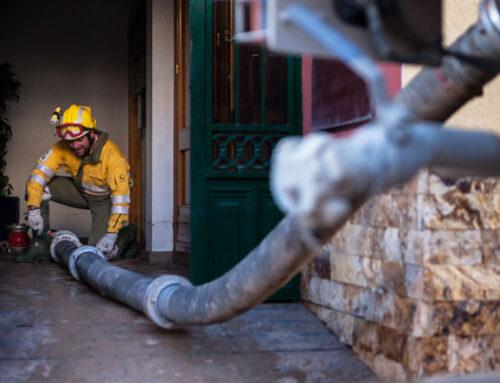Cientos de efectivos de Orthem siguen trabajando en las zonas más afectadas por la DANA