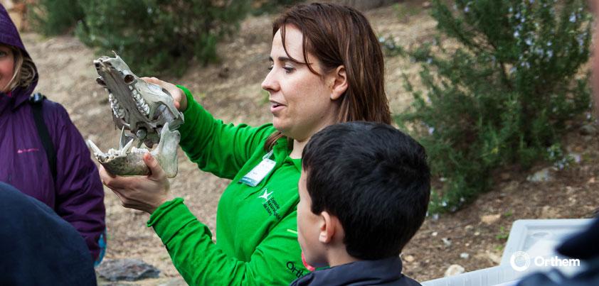 La educación ambiental desde Orthem como mecanismo de divulgación y concienciación