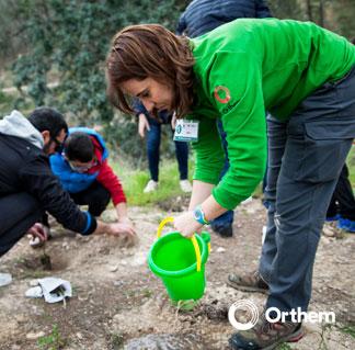 La educación ambiental desde Orthem como mecanismo de aportación de mejoras sostenibles