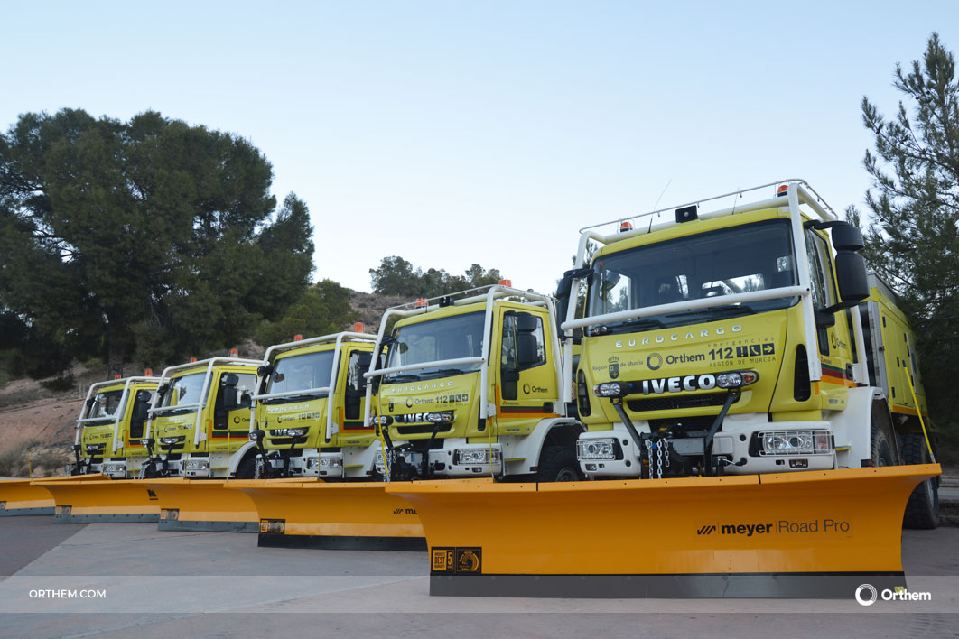 Las brigadas forestales de Orthem dispondrán de 5 nuevas quitanieves para emergencias