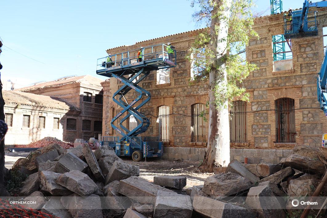 Orthem trabaja en la rehabilitación y puesta en valor de la Cárcel Vieja de Murcia