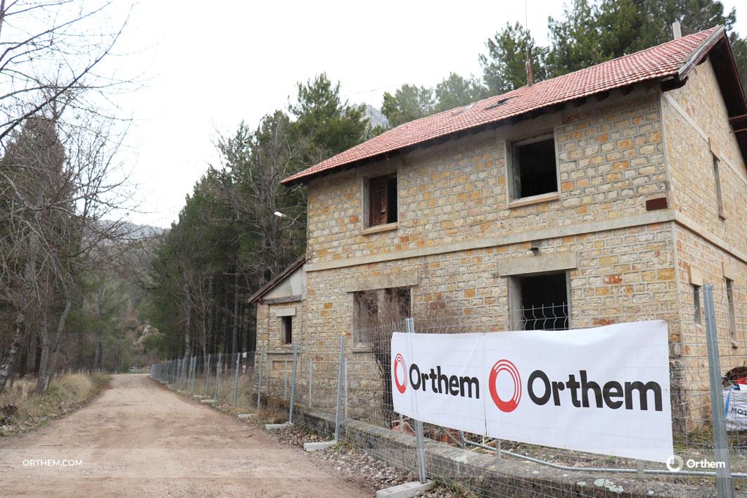 Orthem transforma la antigua casa - cuartel de Uña en una hospedería de 4 estrellas