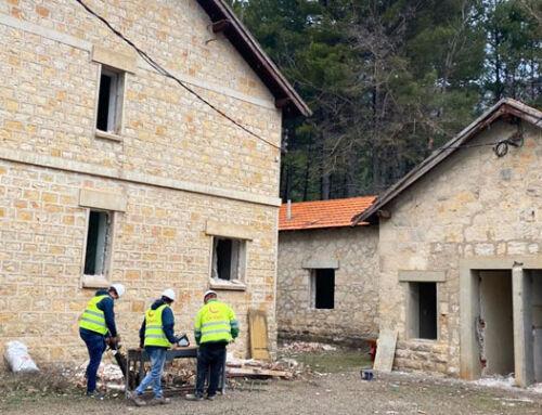 Orthem transforma la antigua casa-cuartel de Uña en una hospedería de 4 estrellas