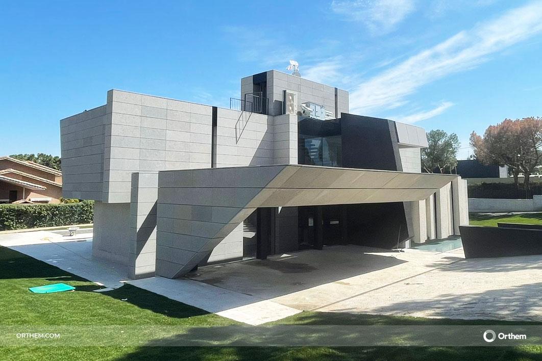 Orthem construye una vivienda de lujo domotizada en el municipio madrileño de Boadilla del Monte
