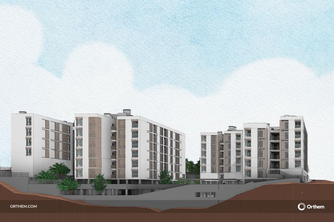 Orthem trabajará por primera vez en Ceuta con la construcción de un complejo residencial de 4 edificios y 9 locales comerciales