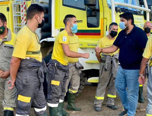 Las brigadas de Orthem – UDIF combaten la DANA en Águilas y colaboran en la extinción del incendio de Sierra Bermeja