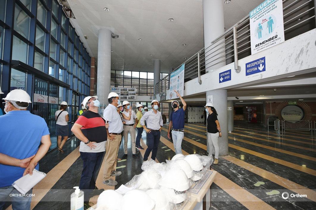 Orthem repara el Palacio de los Deportes de Torrevieja donde se celebrará el Mundial de Balonmano Femenino